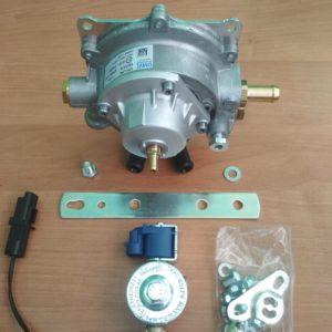 Газовый редуктор OMVL (110 кВт - 150 л.с.) с выносным ЭМК VALTEK и датчиком температуры.
