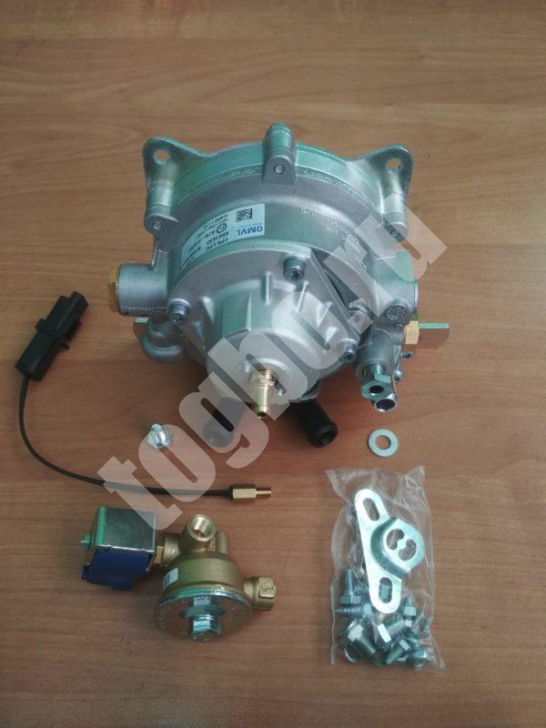 Газовый редуктор OMVL (150 кВт - 200 л.с.) с выносным ЭМК VALTEK и датчиком температуры.