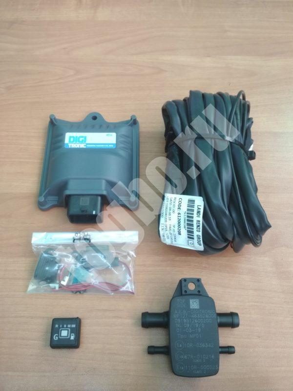 Комплект электроники DIGITRONIC MP-32 (4cil) ЭБУ, МАР, кнопка, эл. коса.
