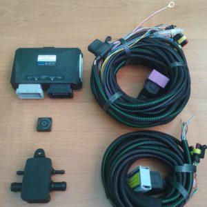 Комплект электроники OMVL saver (6cil) ЭБУ, МАР, кнопка, эл. косы.