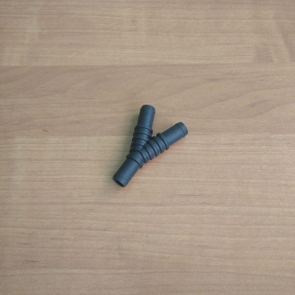 Тройник газовый Y образный 12 мм.