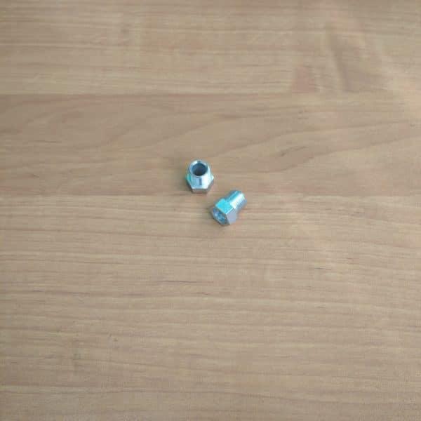 Сгон обжимной наруж. резьба Ф 8 мм. М12х1
